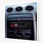 Les accessoires nécessaires pour l'installation d'un autoradio