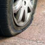 Est-il possible de réparer un pneu crevé ?