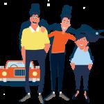 autopartage pour les voyageurs