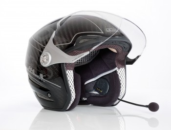 casque moto kit mains libres