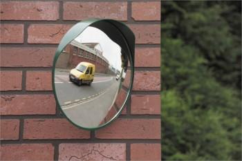 Miroir convexe sortie garage ou parking 40 cm Mottez
