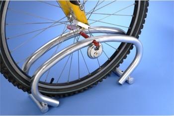 Range 1 vélo MOTTEZ B204C, adapté pour 1 seul vélo
