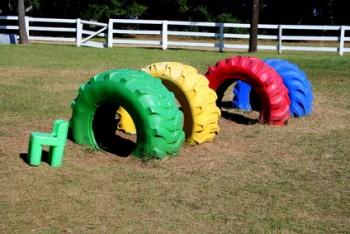 idée recyclage pneu